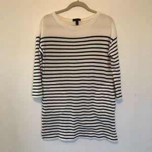 Jcrew Size 0 Striped Dress